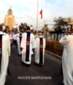 Solemne peregrinación a primera hota del día 5 de abril, desde el Estadio Municipal Coronel Santiago Bueras, hasta el Santuario Nacional de Maipú (63)