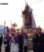 Solemne peregrinación a primera hota del día 5 de abril, desde el Estadio Municipal Coronel Santiago Bueras, hasta el Santuario Nacional de Maipú (65)