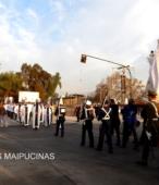 Solemne peregrinación a primera hota del día 5 de abril, desde el Estadio Municipal Coronel Santiago Bueras, hasta el Santuario Nacional de Maipú (68)