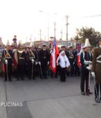 Solemne peregrinación a primera hota del día 5 de abril, desde el Estadio Municipal Coronel Santiago Bueras, hasta el Santuario Nacional de Maipú (7)