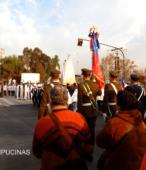 Solemne peregrinación a primera hota del día 5 de abril, desde el Estadio Municipal Coronel Santiago Bueras, hasta el Santuario Nacional de Maipú (70)