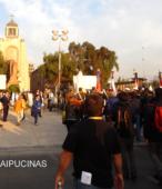 Solemne peregrinación a primera hota del día 5 de abril, desde el Estadio Municipal Coronel Santiago Bueras, hasta el Santuario Nacional de Maipú (71)
