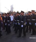 Solemne peregrinación a primera hota del día 5 de abril, desde el Estadio Municipal Coronel Santiago Bueras, hasta el Santuario Nacional de Maipú (72)