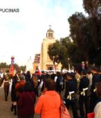 Solemne peregrinación a primera hota del día 5 de abril, desde el Estadio Municipal Coronel Santiago Bueras, hasta el Santuario Nacional de Maipú (73)
