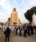 Solemne peregrinación a primera hota del día 5 de abril, desde el Estadio Municipal Coronel Santiago Bueras, hasta el Santuario Nacional de Maipú (74)