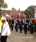 Solemne peregrinación a primera hota del día 5 de abril, desde el Estadio Municipal Coronel Santiago Bueras, hasta el Santuario Nacional de Maipú (78)