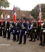 Solemne peregrinación a primera hota del día 5 de abril, desde el Estadio Municipal Coronel Santiago Bueras, hasta el Santuario Nacional de Maipú (79)