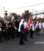 Solemne peregrinación a primera hota del día 5 de abril, desde el Estadio Municipal Coronel Santiago Bueras, hasta el Santuario Nacional de Maipú (8)
