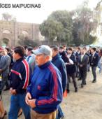 Solemne peregrinación a primera hota del día 5 de abril, desde el Estadio Municipal Coronel Santiago Bueras, hasta el Santuario Nacional de Maipú (80)